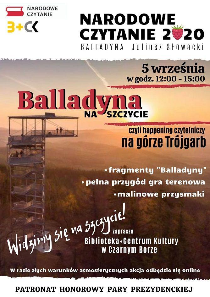 REGION, Czarny Bór: Balladyna … na Trójgarbie