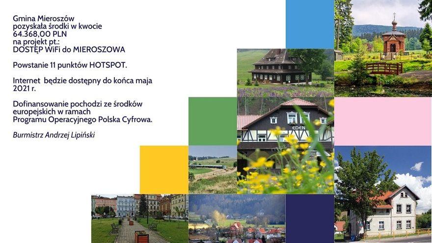 REGION, Mieroszów: Gmina z wifi