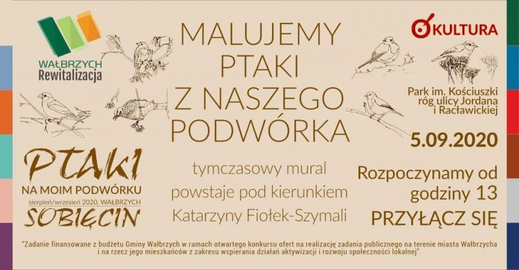 Wałbrzych: Mural na Sobięcinie