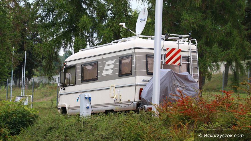 Wałbrzych: Stoją pierwsze campery