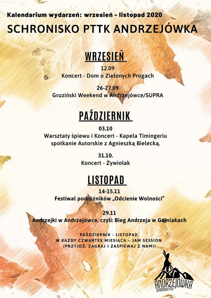 REGION, Andrzejówka: Andrzejówka zaprasza
