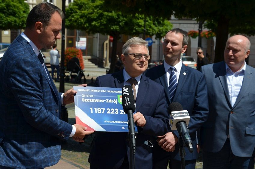 REGION, Szczawno-Zdrój: Wsparcie dla inwestycji