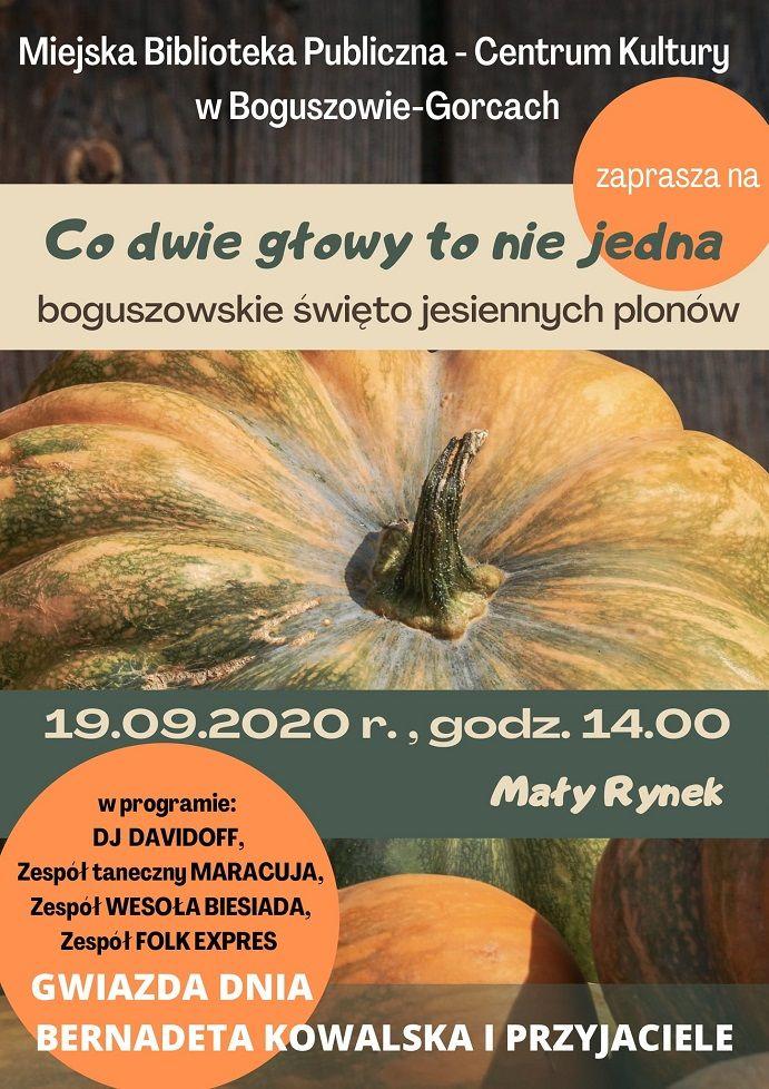 REGION, Boguszów-Gorce: Jesienne plony