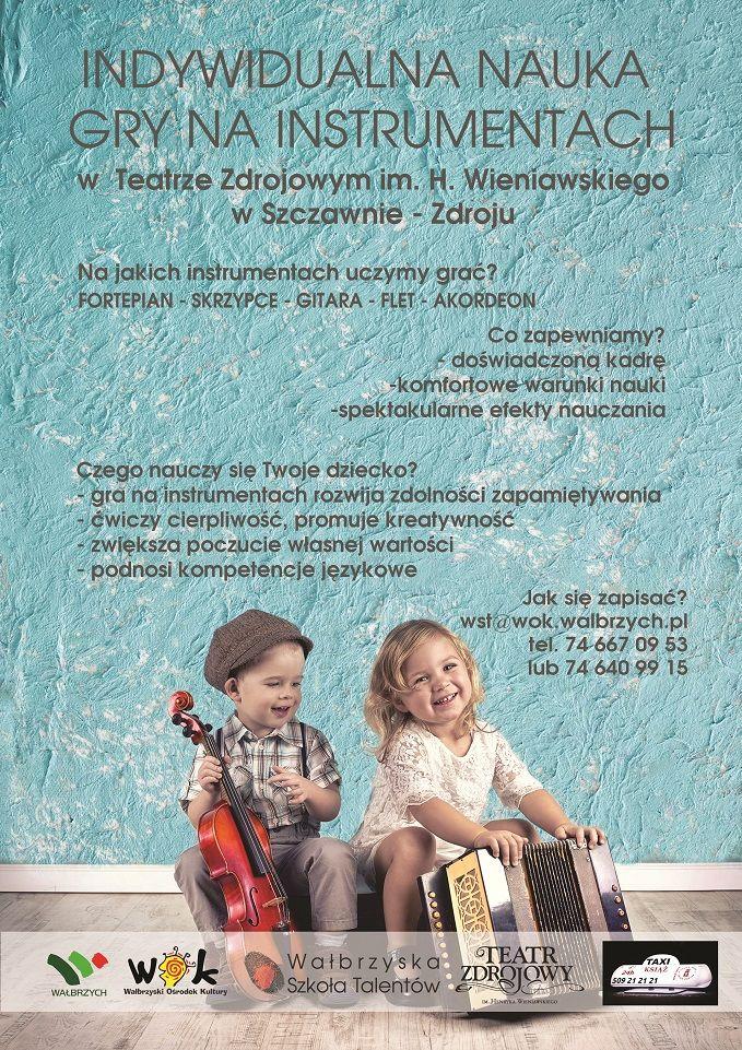 Wałbrzych/Szczawno-Zdrój: Szukają talentów