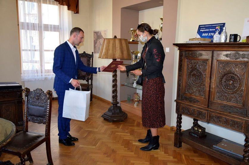 Boguszów-Gorce: Mistrzyni u Burmistrza