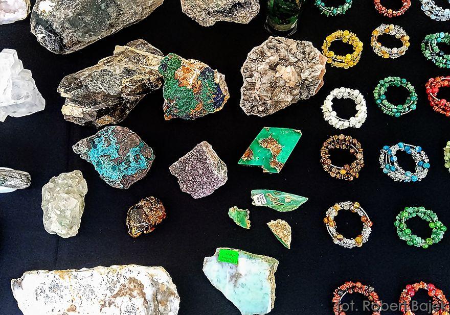 REGION, Zagórze Śląskie: Giełda Minerałów
