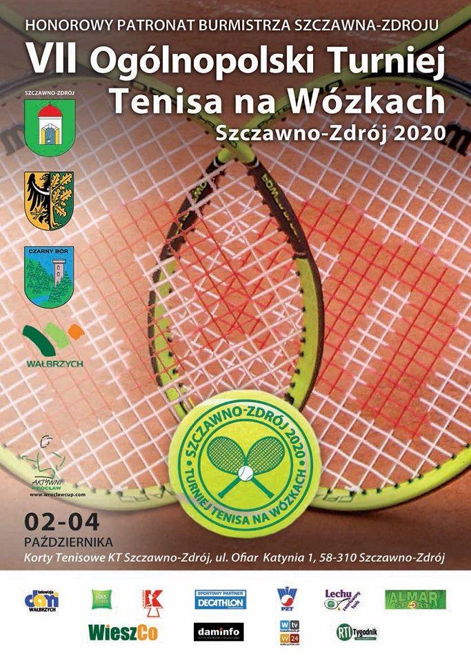Szczawno-Zdrój: Tenisiści na wózkach