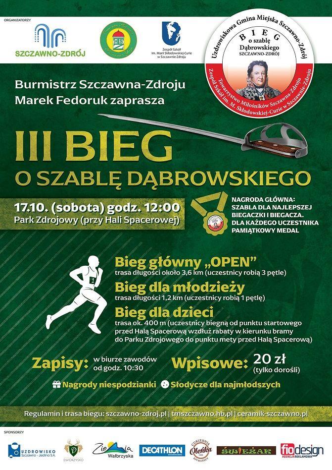Szczawno-Zdrój: Bieg o szablę