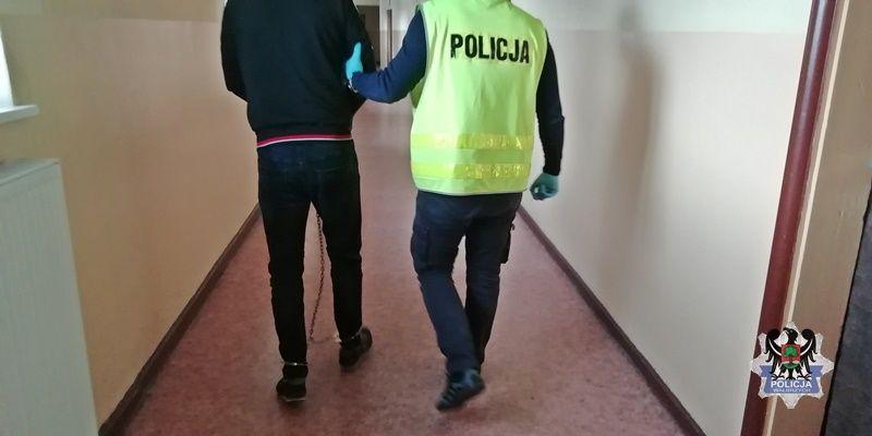Wałbrzych: Staranował policjantów