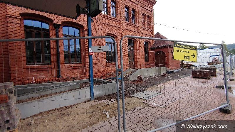 Wałbrzych: Odnawiają dworzec