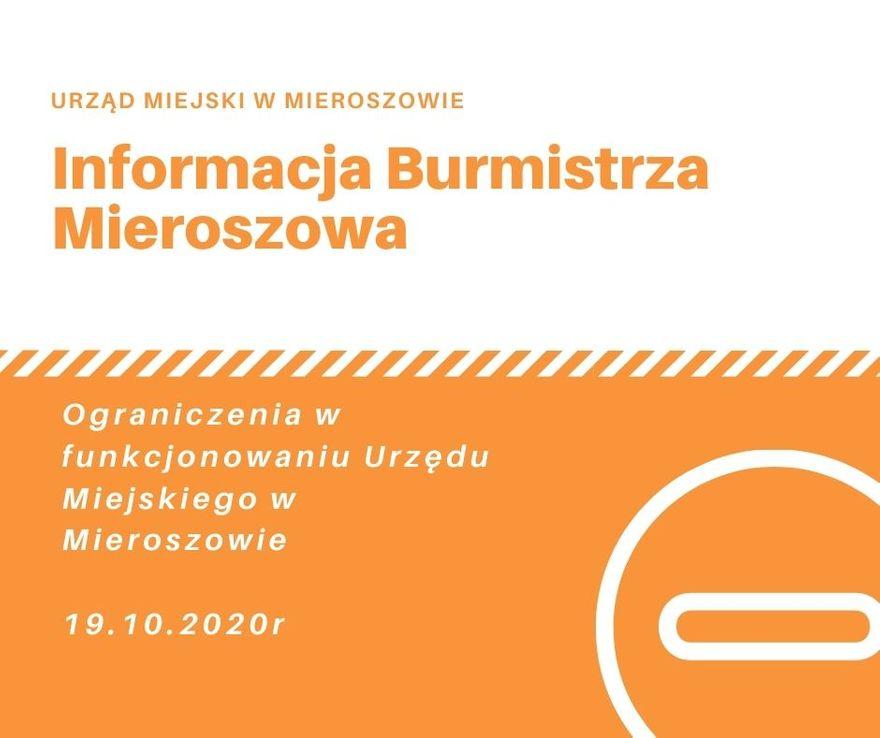 REGION, Mieroszów: Ograniczenia w urzędzie