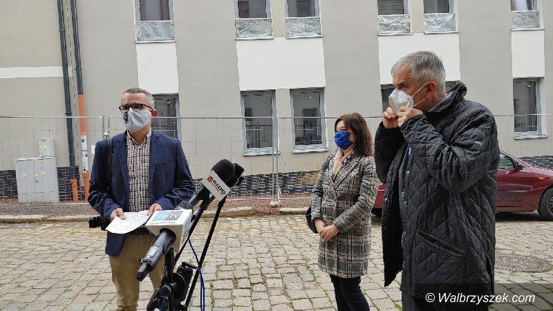 Wałbrzych: Kończą prace na Staszica