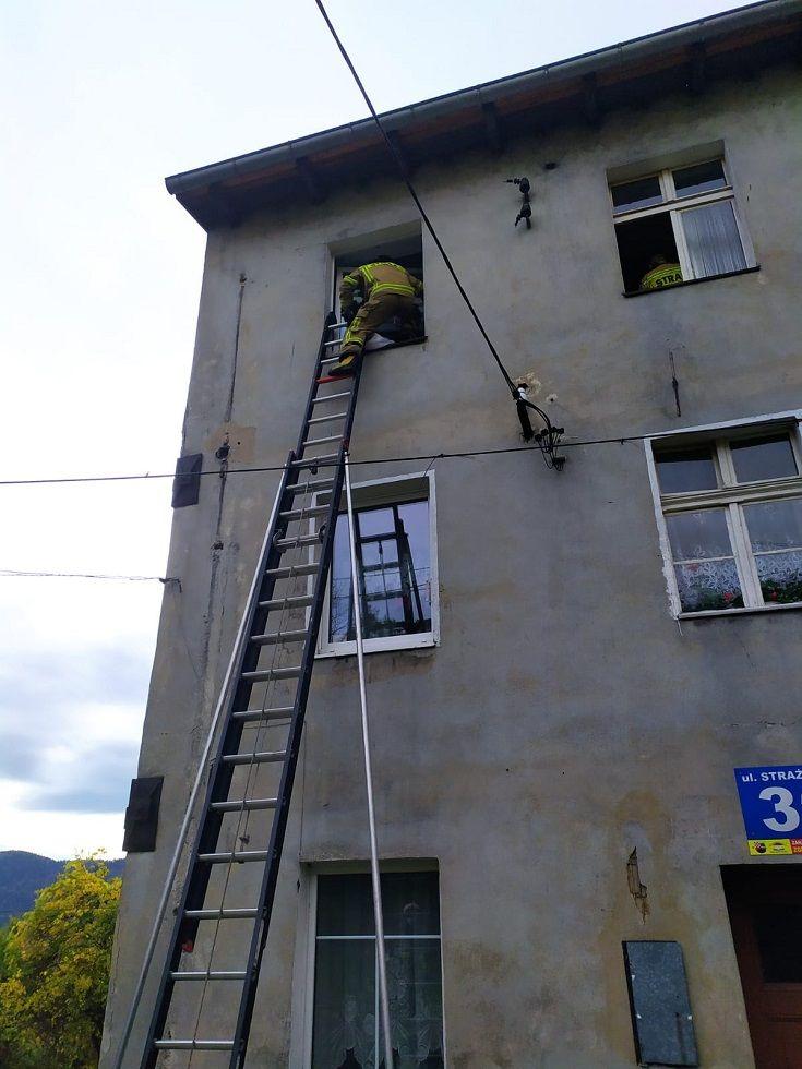 REGION, Boguszów-Gorce: Dziecko zamknięte w domu