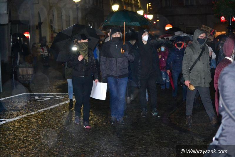 Wałbrzych: Protesty nie ustają