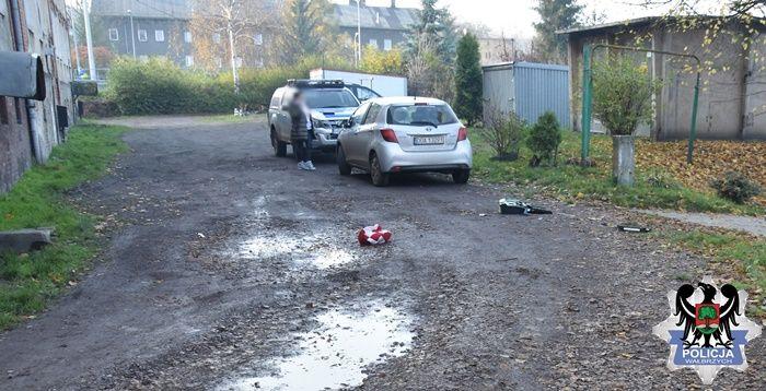 Wałbrzych: Elektronikę wyrzucił przez okno