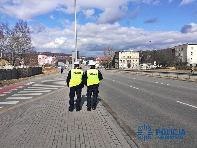 Wałbrzych/powiat wałbrzyski: Zagrożenie dla pieszych