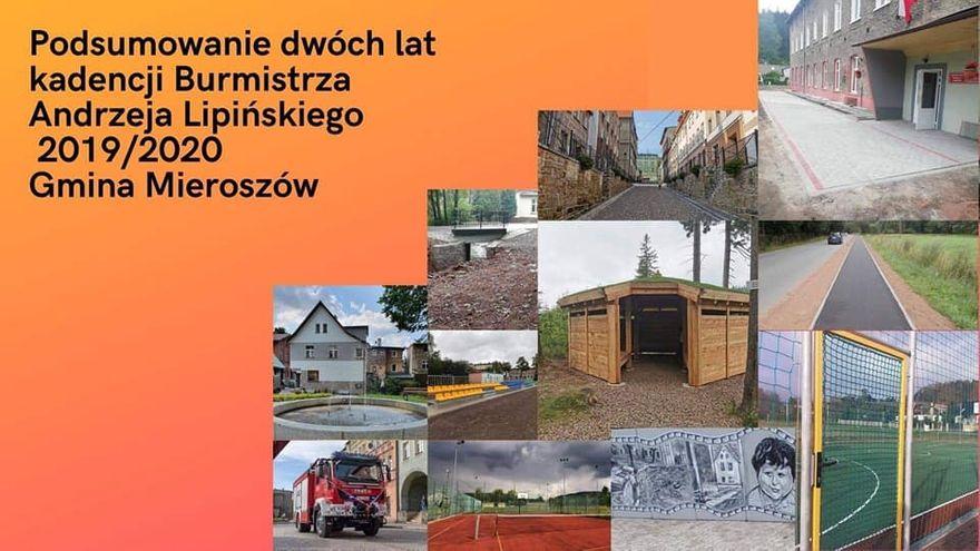REGION, Mieroszów: Dwa lata burmistrza