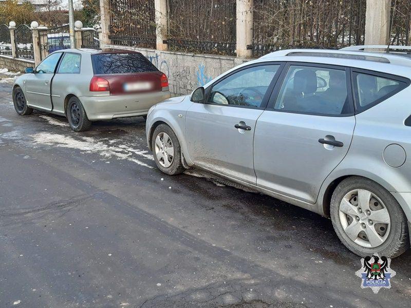 Wałbrzych/powiat wałbrzyski: Uciekał motorowerem