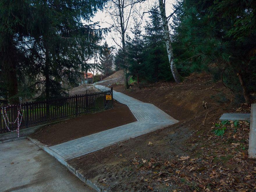 REGION, Szczawno-Zdrój: Powstaje chodnik