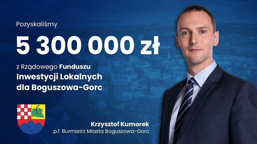 REGION, Boguszów-Gorce: Pozyskali ponad 5 milionów
