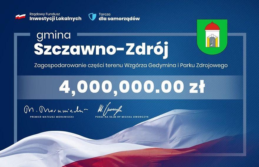 REGION, Szczawno-Zdrój: Na rewitalizację Parku