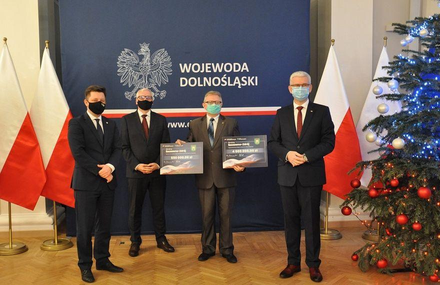 REGION, Szczawno-Zdrój: Promesa już w Szczawnie