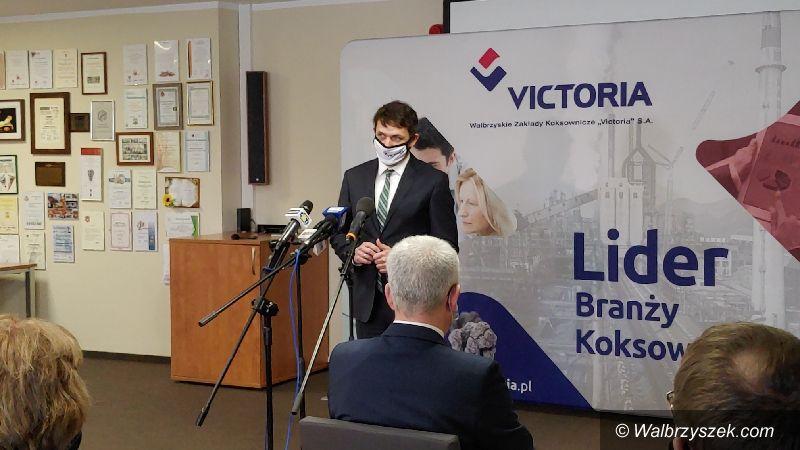 Wałbrzych: WZK Victoria modernizuje