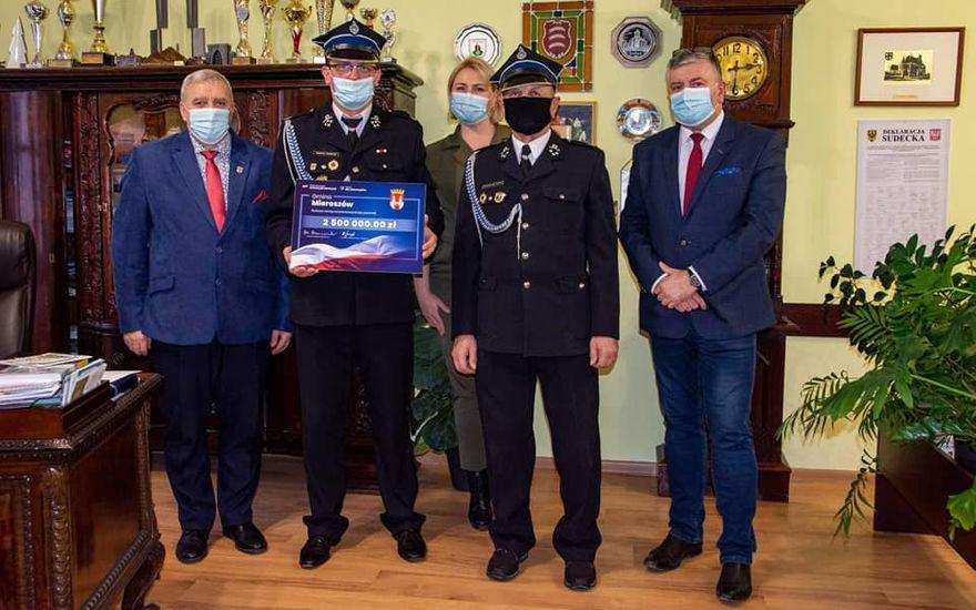 REGION, Mieroszów: OSP Mieroszów podsumowuje rok