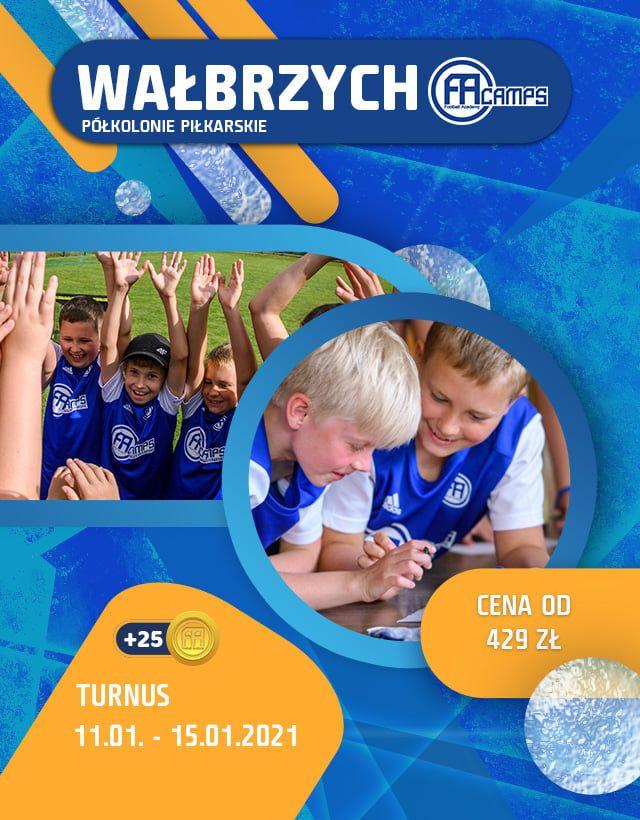 Wałbrzych: Piłkarskie półkolonie