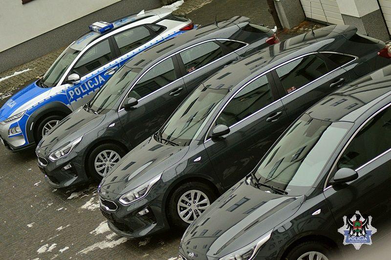 Wałbrzych/powiat wałbrzyski: Nieoznakowane radiowozy