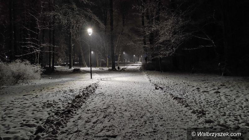 Wałbrzych: Park nocą
