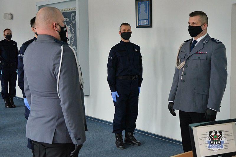 Wałbrzych/powiat wałbrzyski: Ślubowanie policjantów