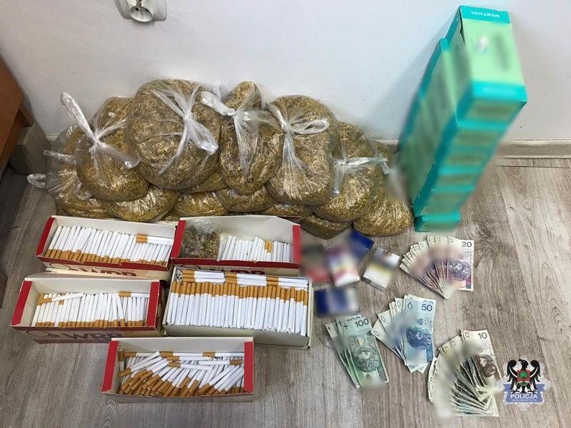 REGION, Czarny Bór: Handlował tytoniem