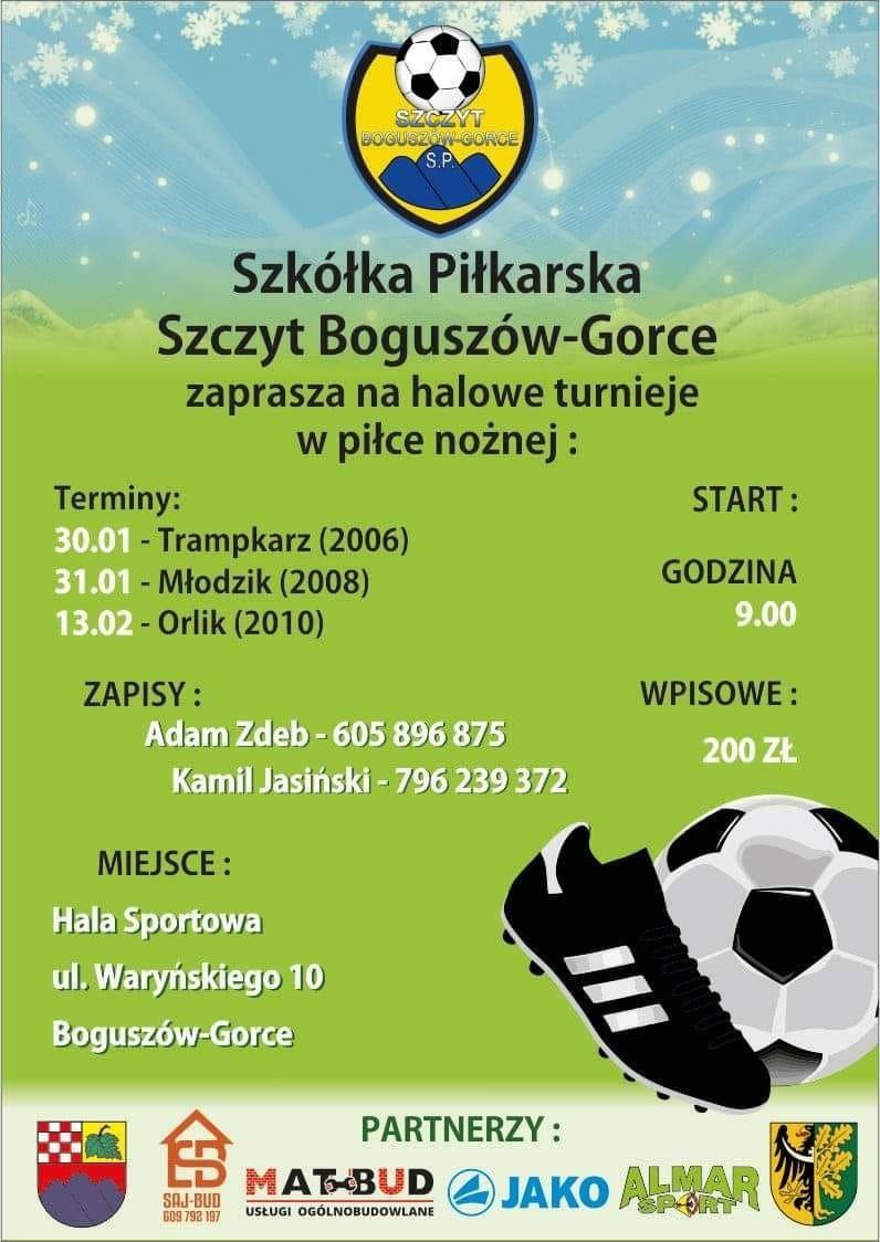 Boguszów-Gorce: Halowe zmagania piłkarzy