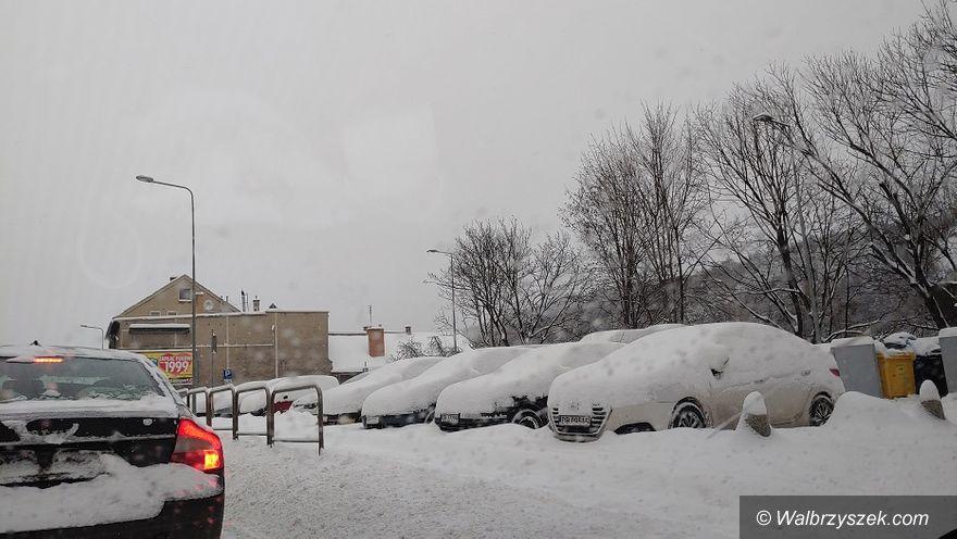 Wałbrzych: Wrocławska zakorkowana