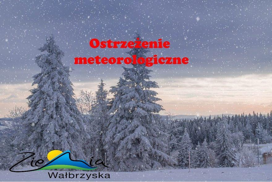 Wałbrzych/powiat wałbrzyski: Idzie mróz