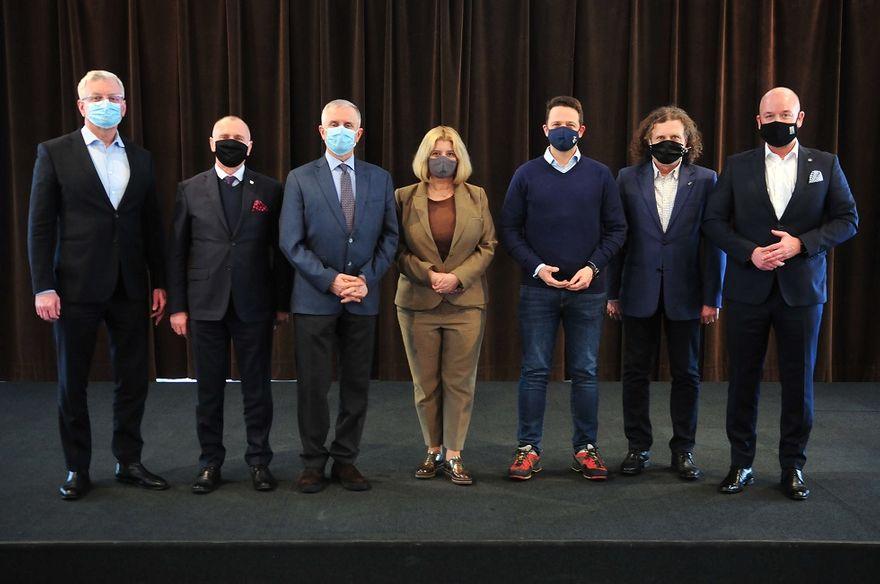 Wałbrzych/Kraj: Prezydenci w Wałbrzychu