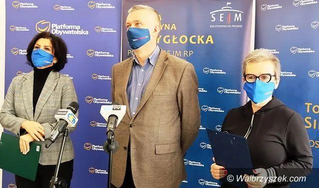 REGION, Szczawno-Zdrój: Parlamentarzyści interweniują