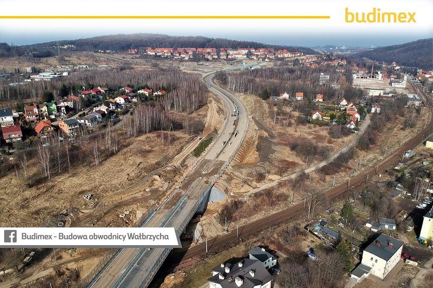 Wałbrzych: Budowa obwodnicy w procentach