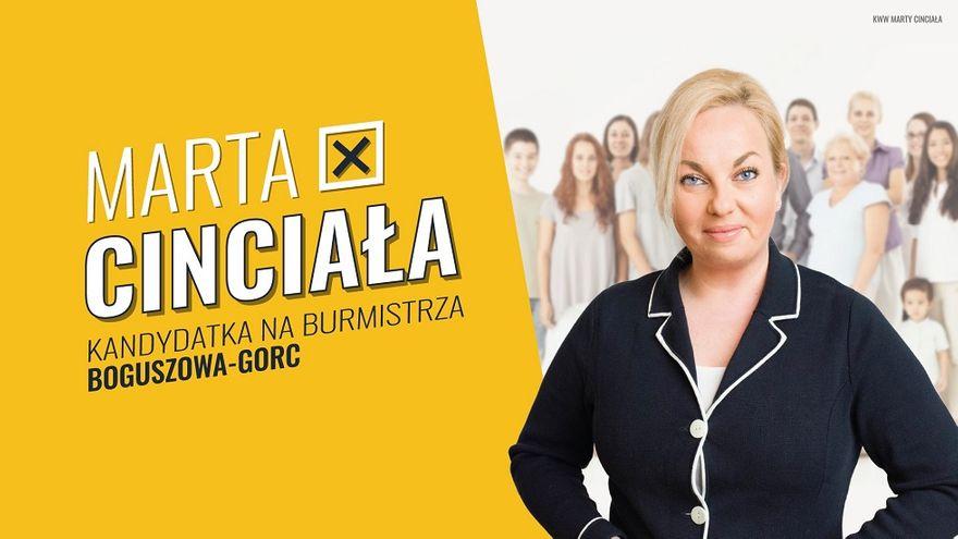 REGION, Boguszów-Gorce: Kandydatka z programem