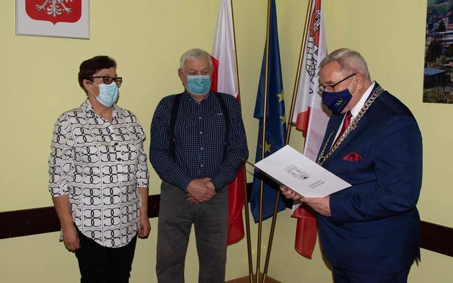 REGION, Mieroszów: Jubilaci z medalami