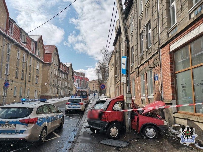 Wałbrzych: Wypadek na Daszyńskiego