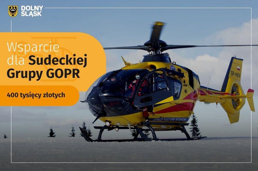 REGION: Wsparcie dla GOPR–u