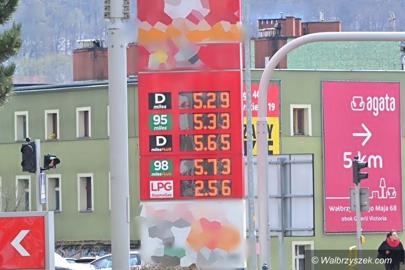 Wałbrzych/Kraj: Wygórowane ceny paliw