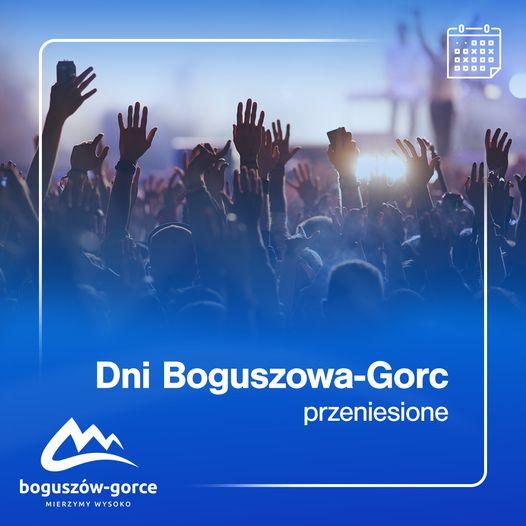 REGION, Boguszów-Gorce: Dni miasta przełożone
