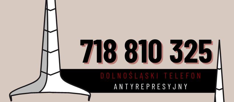 Wałbrzych/REGION: Antyrepresyjny telefon