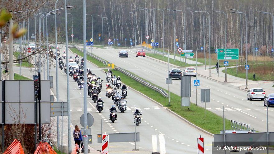 Wałbrzych/Szczawno-Zdrój: Przejazd motocyklistów