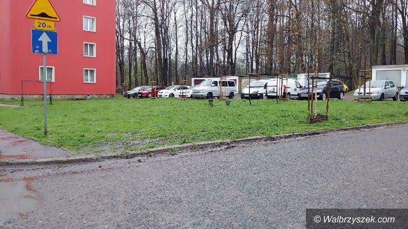 Wałbrzych: Problem z parkowaniem