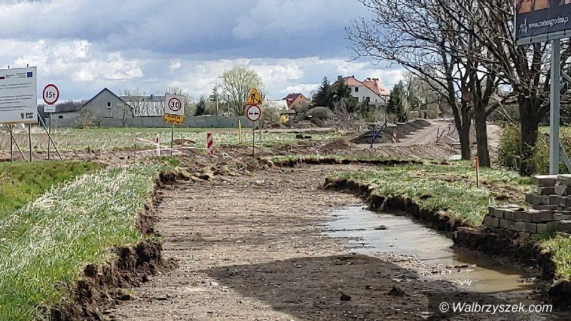 Wałbrzych/REGION: Przebudowa trwa
