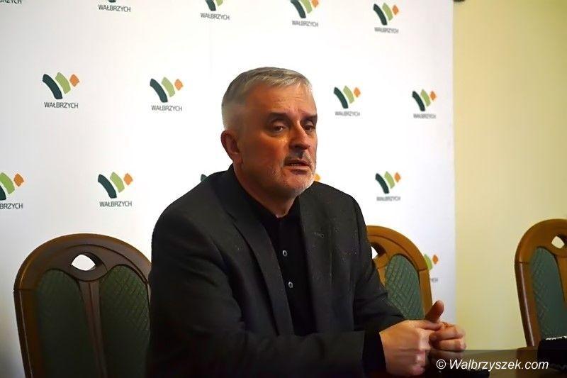 Wałbrzych: Ochrona dla prezydenta